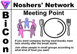 signage for noshers' network